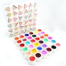 #20204 2016 nail salon use CANNI 36 color pure color uv gel kit, uv color paint gel kit,uv color gel kit(China (Mainland))