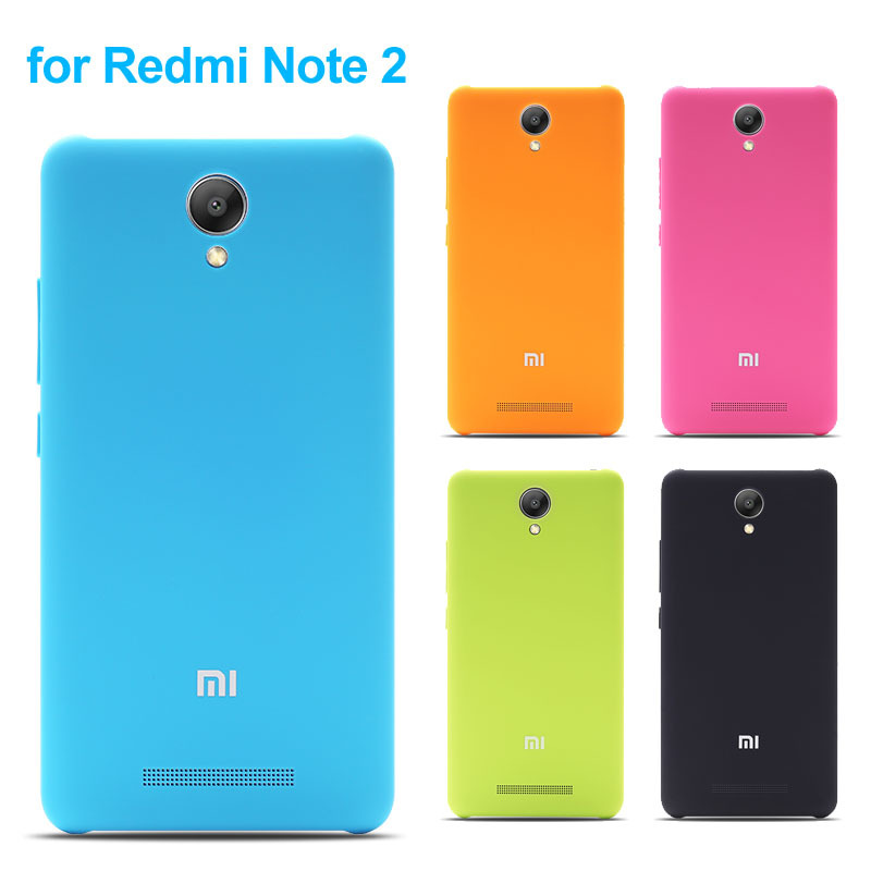 Xiaomi Redmi Note 2 Case Battery Cover Ultra Thin Hard Protective Back Colorful Hongmi Note2 - Elite Electronic CO., LTD store
