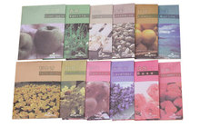 12pcs hanging home sachets natural aromatherapy bags wardrobe car Incense essential Fragrance for smell(China (Mainland))