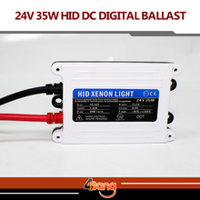 Free shipping 1pc 24V DC 35W HID slim digital xenon ballast hid ballast car ballast Replacement Parts For Car Headlight