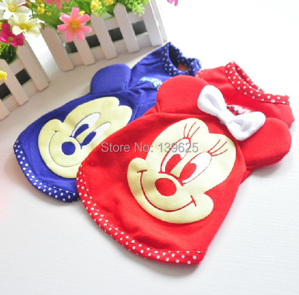 small dog clothes spring & summer t-shirt pet clothes for dogs puppy cat clothes vest(China (Mainland))