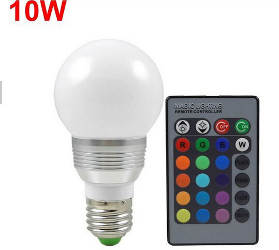 led leuchtmittel 2014 neuank mmling rgb e27 9w 15w ac 85 265v rgb led lampe mit. Black Bedroom Furniture Sets. Home Design Ideas
