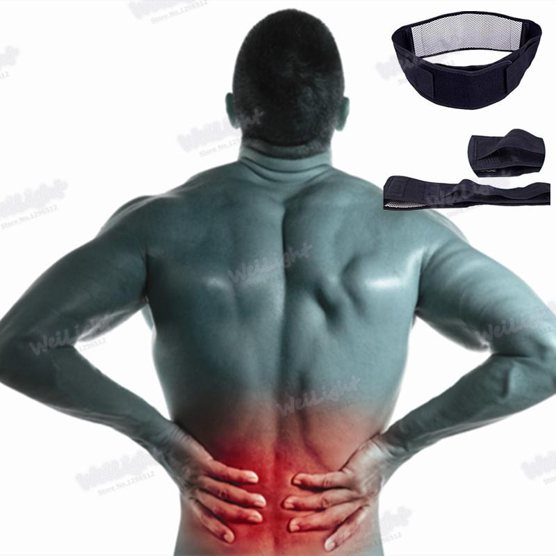 Lumbar disc protection belt lumbar muscle strain traction belt spine massage relieve back pain lumbar disc lumbar support 1Pcs(China (Mainland))