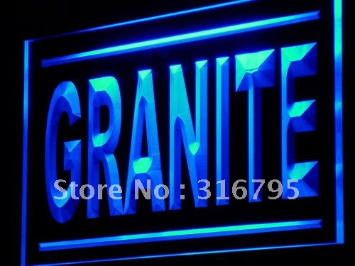 j204-b Granite Supplier Stone Shop Lure LED Light Sign On/Off Switch 7 Colors(China (Mainland))
