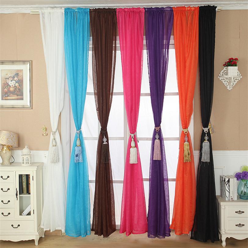 10 creative curtain displays -room & bath.