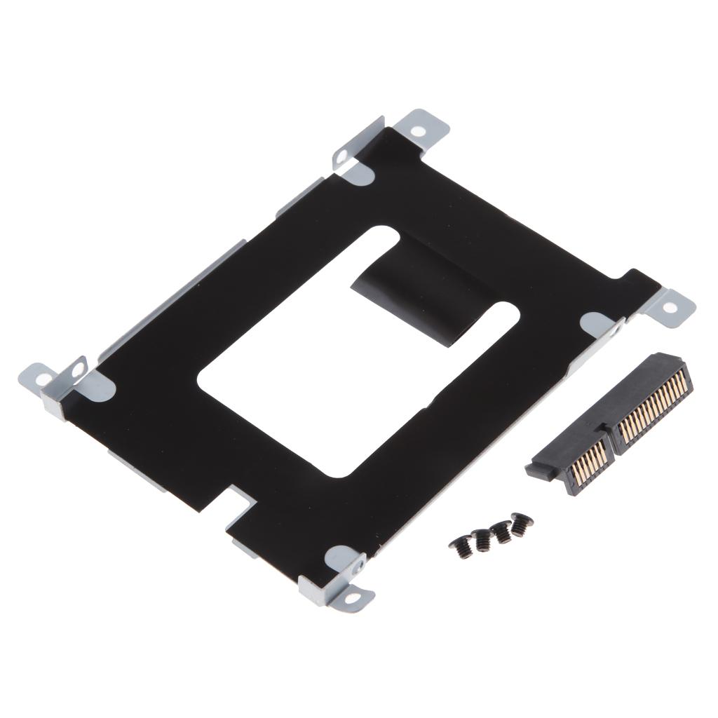 Hard Drive HDD SSD Caddy/Enclosure Bay For Dell Latitude E5420 E5520 + HDD Connector W/Screws D80V4