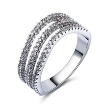 Buy TT Fashion Woman Hollow Fashion Rings Sparkling AAA Grade Cubic Zircon High Rhodium Color Lead Free for $9.37 in AliExpress store