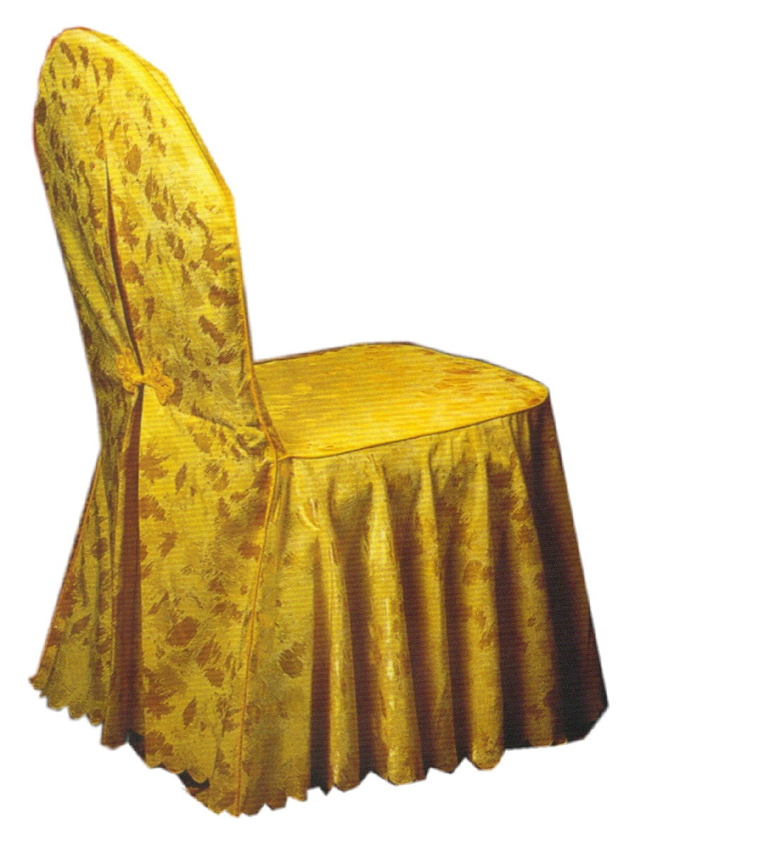 Quality one piece chair cover stool set bow the banquet