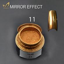 2g/Bottle Gold Sliver 7 Colors New Mirror Glitter Powder For Nails Shinning Chameleon Dust Nails Art DIY Chrome Pigment Glitters(China (Mainland))