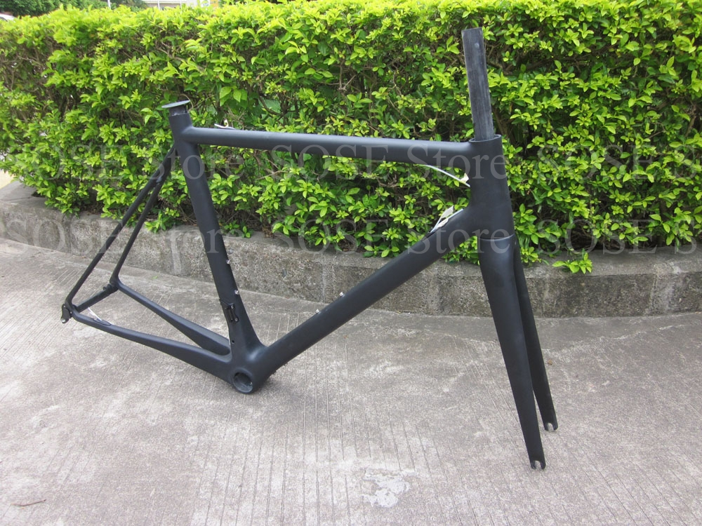 Carbon Frame Carbon Fiber Bike Frame Carbon Bicycle Frameset with BBright Bicicletas in Carbonio Race Bicycle Frame Carbon T800(China (Mainland))