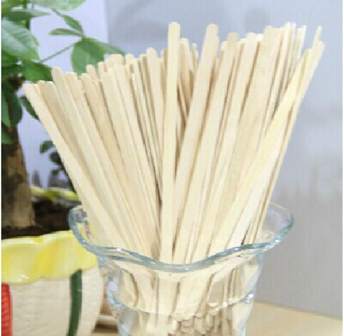 14cm 250 PCs, No With paper sleeve. Wooden Long handle Coffee Beverage Stirring rods A one-time Health Party Office coffee shop(China (Mainland))
