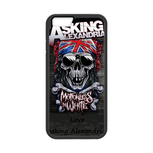 Asking Alexandria Union Jack Case for iPhone 6 Phone Cases(China (Mainland))