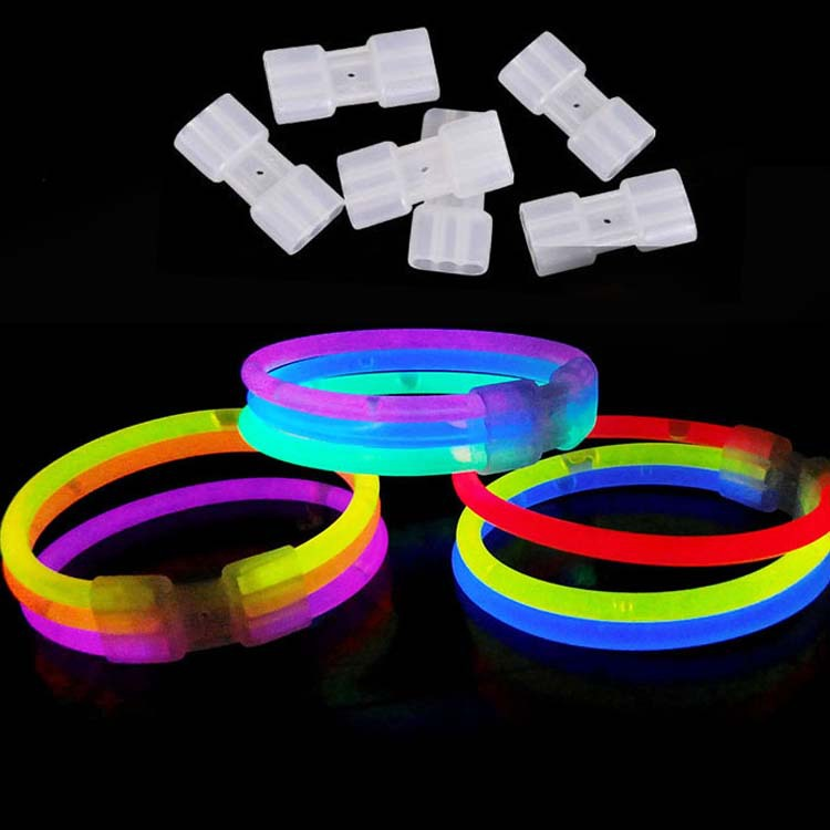 Multi Color glow glowing sticks bracelet bangle Light party revel glow in the dark Children'Day High Quality(China (Mainland))