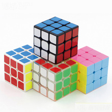 5.6cm Moyu Guanlong Cube 3x3x3 PVC Sticker Block Puzzle Speed Magic Cube Colorful Learning&Educational Puzzle Cubo Magico Toys(China (Mainland))