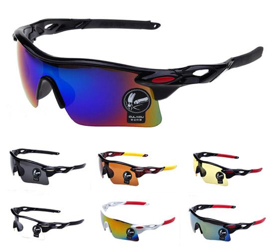 Men Glasses UV400 Outdoor Sports Windproof Eyewear Women Mountain Bike Bicycle Motorcycle Glasses Sunglasses(China (Mainland))