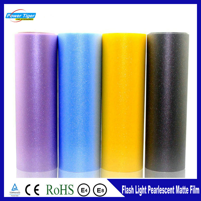 30*100Cm Auto Moto Decoration Protect Lights Car Sticker Pearl Matte Film Flash Lighting Headlight Taillight Change Color Film(China (Mainland))