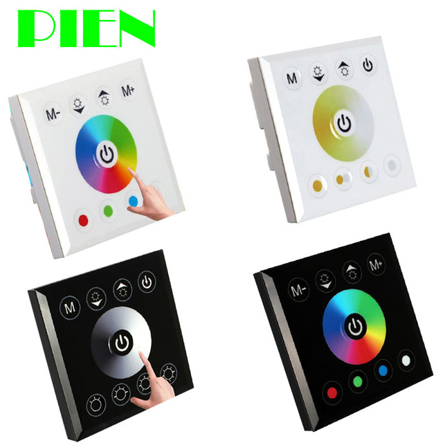 Led Strip Light Wall Dimmer: Aliexpress.com : Buy Wall Mounted Acrylic Touch Panel LED