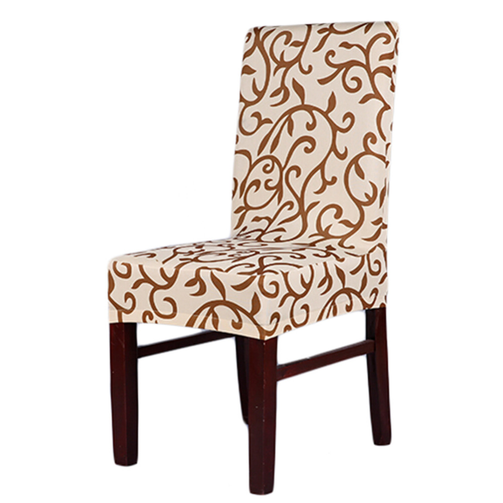 Hot sale home chair cover thickening dining chair elastic for Housse chaise