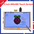 5 Inch 800x480 HDMI TFT LCD Touch Screen for Raspberry PI 3 2 Model B B