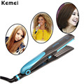 Professional Ceramic Hair Straightener Corn Plates Flat Iron Straightening Irons Electronic Curler Styling Tools Hair Crimper
