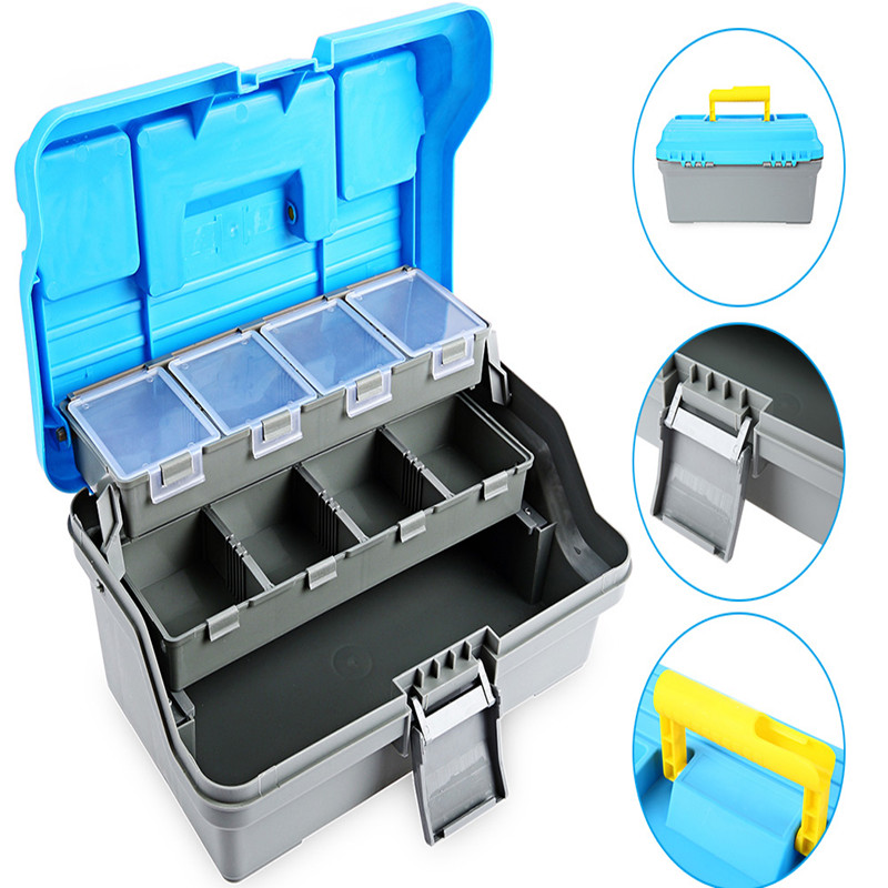 Fly Fishing Tackle Boxes Fishing Accessories Case Fish Lure Bait Hooks Tackle Tool for Storing Swivels, Hooks, Lures,Lines,Reels(China (Mainland))