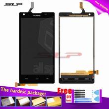 Черный полный для Huawei Ascend G700-U10 сотовый телефон с сенсорным стеклом + бесплатные инструменты