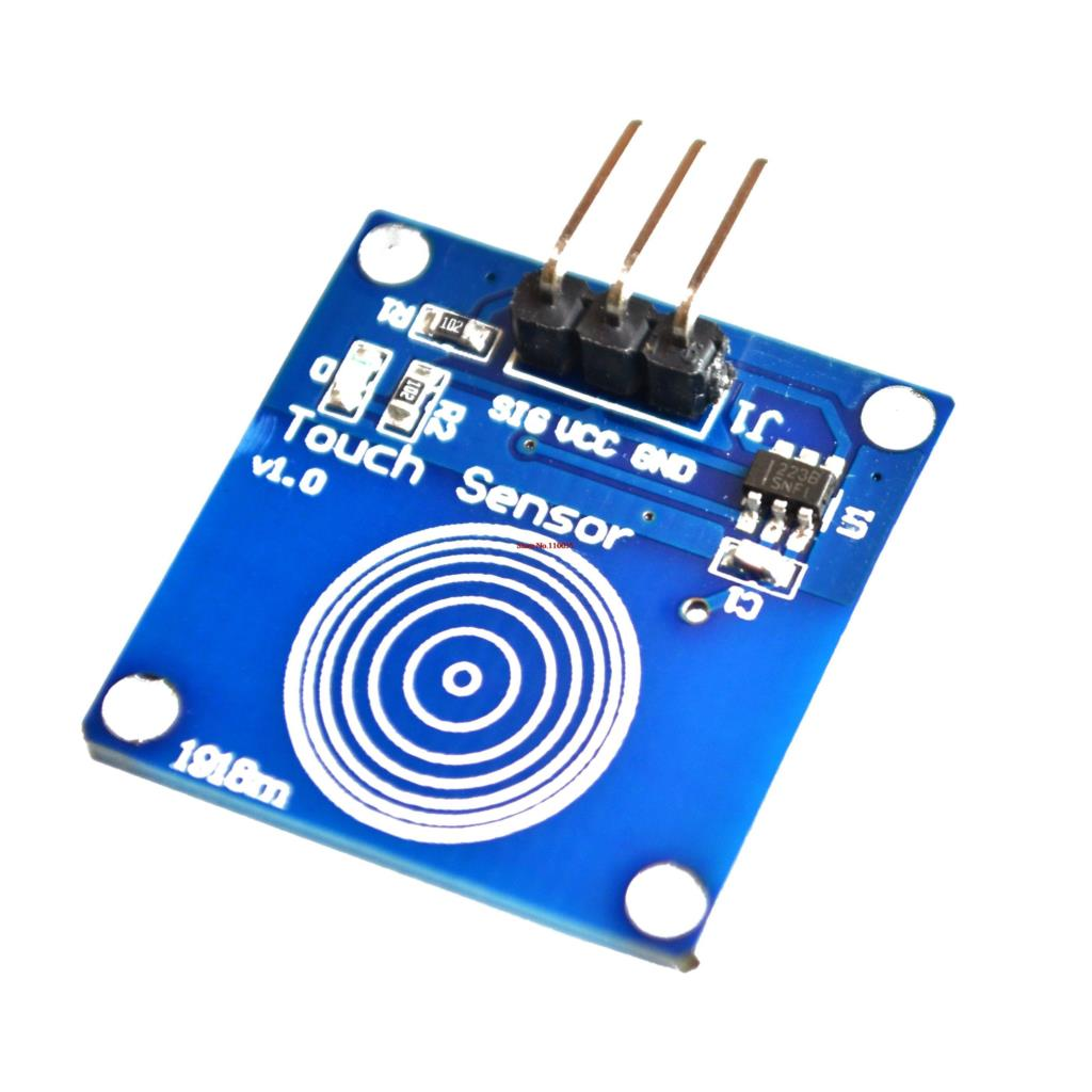 10pcs/lot Digital Sensor TTP223B Module Capacitive Touch Switch for Arduino blue Free Shipping(China (Mainland))