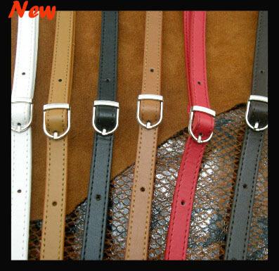 "47.2"" 120cm long 1.2cm wide PU leather shoulder bag strap handles messenger bags belt DIY handmade handle bag accessories 10pcs(China (Mainland))"