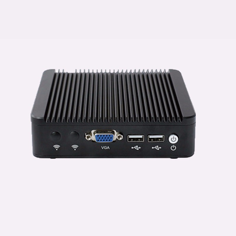 Server PC with Fanless 12v DC Power Supply Celeron quad core ubuntu Linux 1080p pc(China (Mainland))