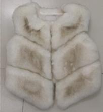 2015 new winter fox fur vest faux fur vest women jacket mink waistcoat outerwear short paragraph Leather grass fur coat gilet(China (Mainland))
