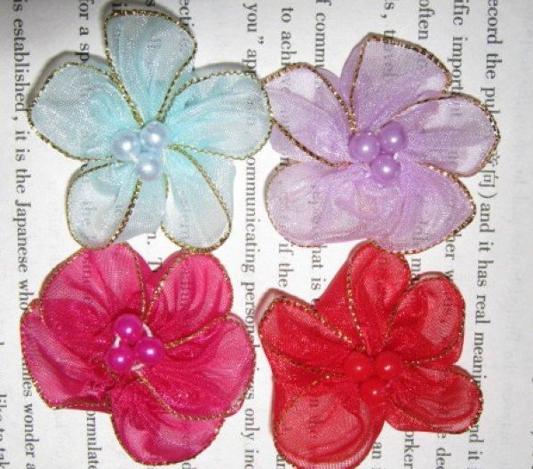 EMS shipping DIY scrapbooking accessories,student DIY item,DIY handcraft accessories,35mm flower accessories,clothing decorator