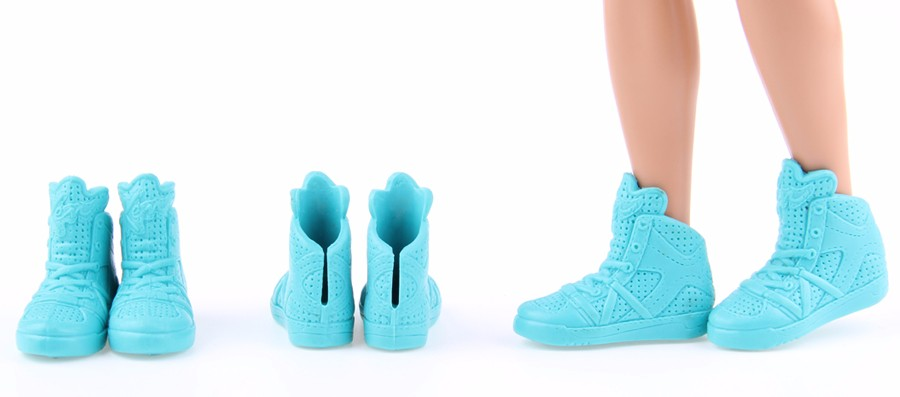 Randomly Choose three pairs / lot Wholsale Value sneakers For Barbie Boy good friend Ken Free delivery Dolls Equipment Greatest reward for woman