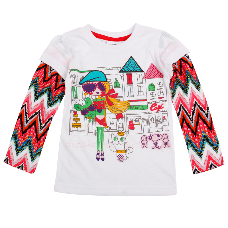 Buy children girls t shirts nova floral for How to decorate t shirts