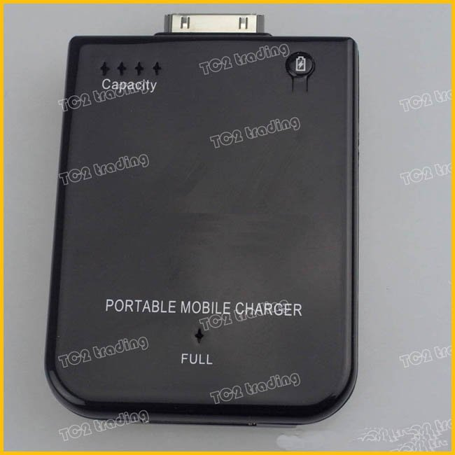 2800 mAh portable Mobile batterie for Iphone 3G 3GS 4G Free shipping DHL EMS 8pcs/lot(China (Mainland))