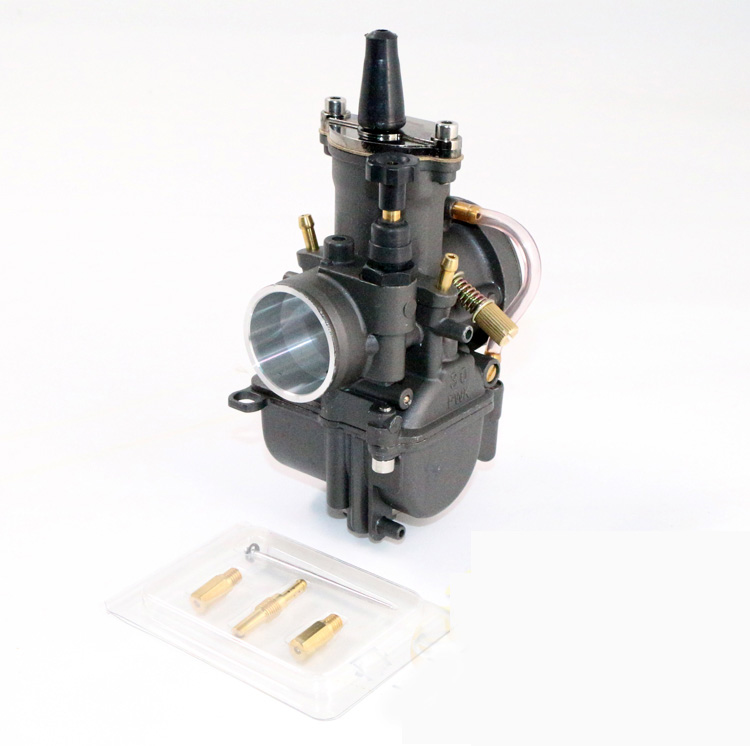 Black PWK Power Jet Carburetor 28mm 30mm 32mm 34mm Universal Motorcycle RACING Carb Scooters dirt bike ATV OEM OKO KOSO(China (Mainland))