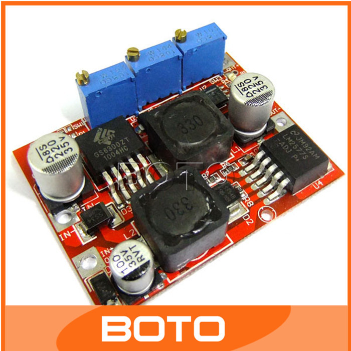 DC-DC 4-35V to 1.25-25V Automatic Buck Boost Converter Constant Current Constant Pressure Solar Wind Energy Power Module#200424(China (Mainland))