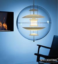 Verner panton replica globe lamp