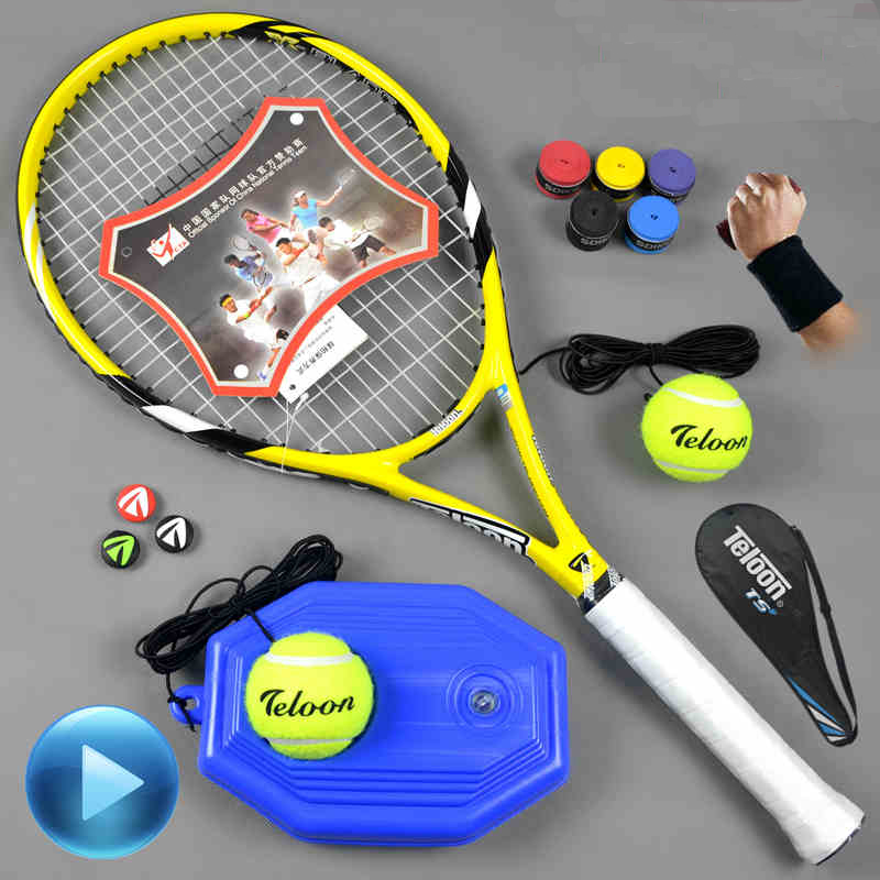 NEW teloon tennis racket top quality 100% full carbon tennis racket tenis Racket / Racquet Grip: 4 1/4 or 4 3/8(China (Mainland))