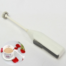 Milk Frother Stainless Steel Handheld Whisk Mixer