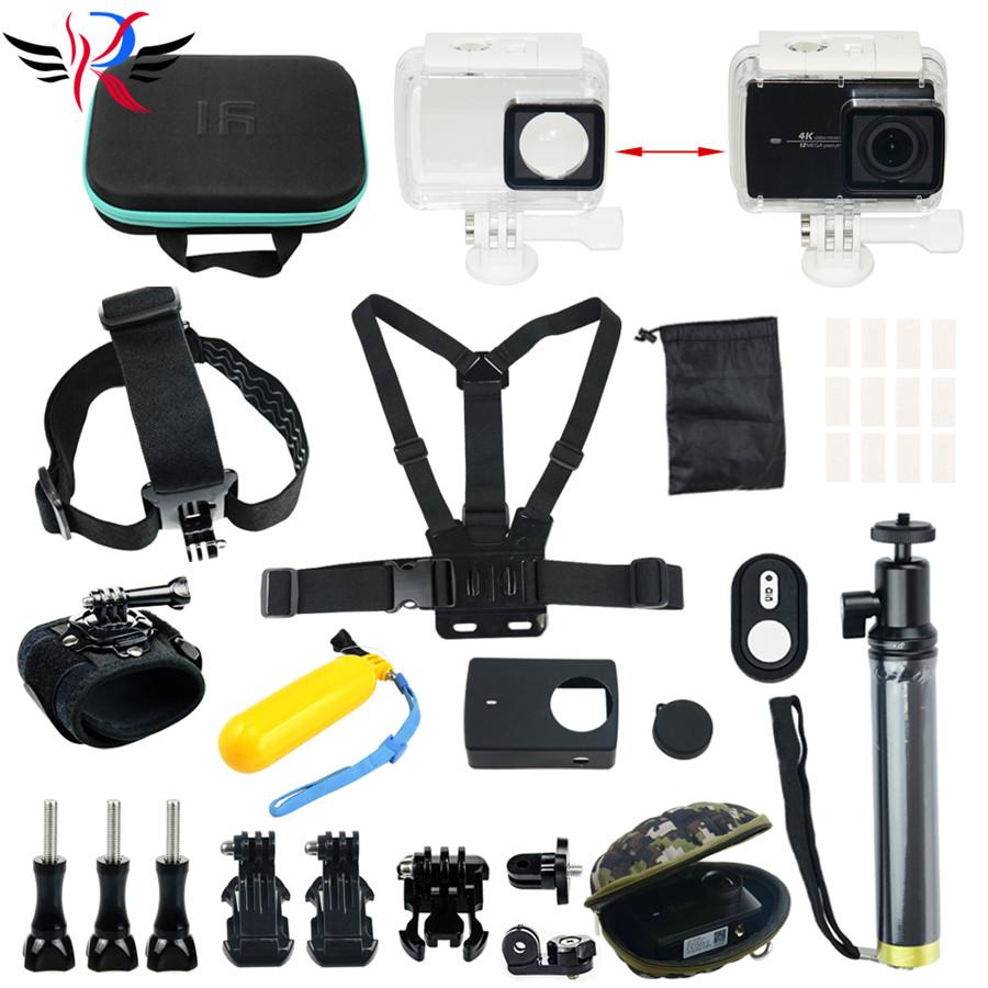 Original Xiao Mi Yi Action Sports Camera Accessories Waterproof Housing Case 60M Diving Waterproof Box For Xiaoyi 4K Camera