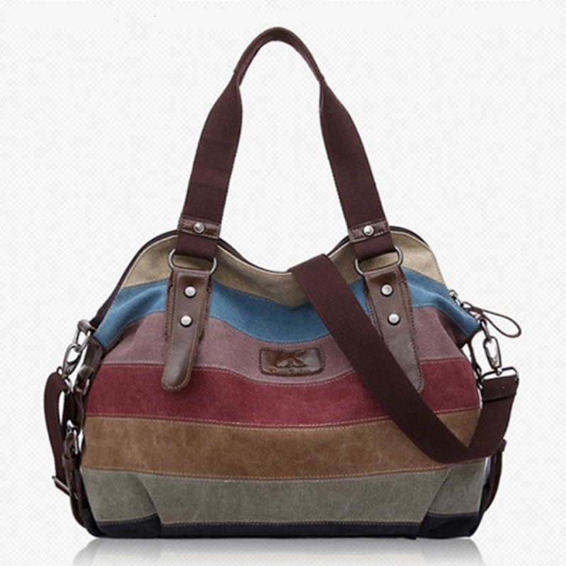 Гаджет  woman bags fashion 2015 designer handbags high quality sac ladies bolsos canvas patchwork Casual Shopping Shoulder crossbody Bag None Камера и Сумки