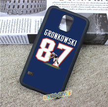 rob gronkowski jersey 3 Case cover for samsung galaxy S3 S4 S5 S6 S6 edge S7 S7 edge Note 3 Note 4 Note 5 #tk883(China (Mainland))
