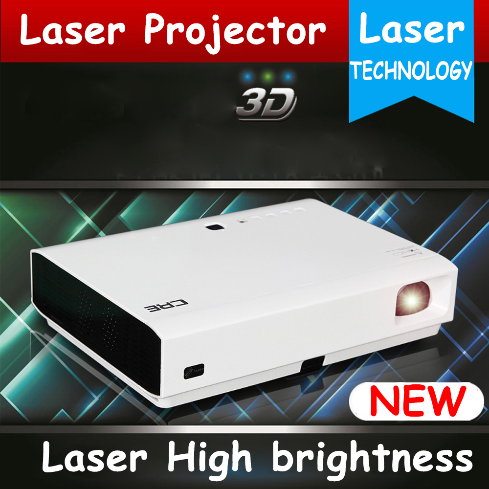 Best quality 3000ANSI lumens full HD 1080p LED laser video projector,perfect home theater business projector(China (Mainland))