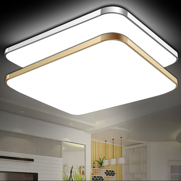 led ceiling lights for Bedroom living room LAMP 64w 48w 36w 24w indoor lighting Rc dimming and color temperature variation(China (Mainland))
