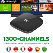Buy Arabic Iptv Box Quad core Android TV Box Free QHDTV Subscription Europe French UK Gemany Iptv Channels HD Player Set Top Box for $38.77 in AliExpress store