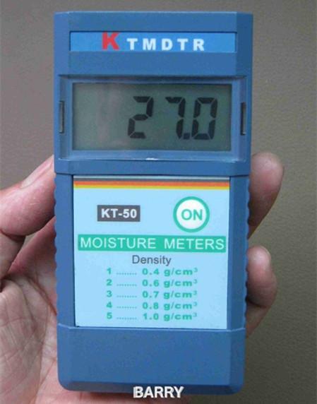 KT-50 INDUCTIVE MOISTURE METER digital wood moisture meter 2%~90% Resolution: 1%