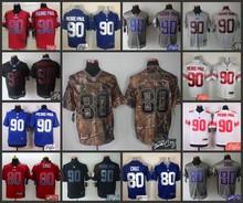 Signature Edition 100% Elite men New York Giants 80 Victor Cruz 90 Jason Pierre-Paul,camouflage(China (Mainland))