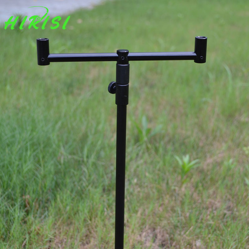 Carp fishing tackle 1pcs fishing rod pod fishing buzz bar with 1pcs fishing buzz bar black color(China (Mainland))