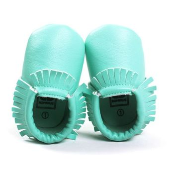Princess Toddler Infant Soft Sole PU Leather Shoes Tassels Baby Various Cute Moccasin H34