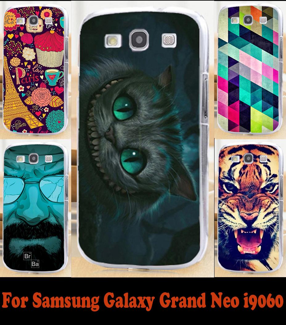 Soft TPU Phone Case Samsung Galaxy Grand Duos GT I9082 i9080 9060 Neo I9060 i9062 Plus i9060i Protective Hard Back Cover - Rajah 3C store